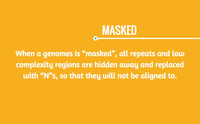 masked genomes